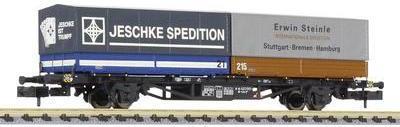 Liliput L265222 N Containertragwagen Lss-y 571 der DB Spedition Jeschke/Steinle (L265222) jetztbilligerkaufen