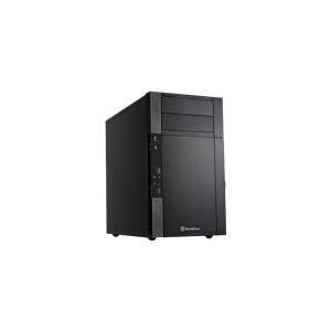 Computergehäuse - SilverStone Precision PS07B Tower Mikro ATX ohne Netzteil (ATX PS 2) Schwarz USB Audio (PS07B)  - Onlineshop JACOB Elektronik