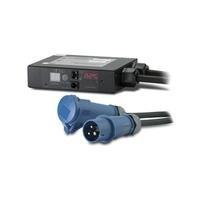 Schneider Electric APC Metered Rack PDU AP7152 In-Line Current Meter - Stromüberwachungsgerät (Rack - einbaufähig) - Wechselstrom 230 V - 3680 VA - Ethernet 10/100, RS-232 - output connectors: 1 - 1U - Schwarz - für P/N: AR3100 (AP7152)