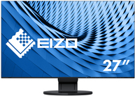 EIZO FlexScan EV2785-BK - LED-Monitor - 68.5 cm (27) - 3840 x 2160 4K - IPS - 350 cd/m² - 1300:1 - 5 ms - HDMI, DisplayPort, USB-C - Lautsprecher - Schwarz