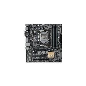 ASUS B150M-C/CSM - Motherboard - Mikro-ATX - LGA1151 Socket - B150 - USB3.0 - Gigabit LAN - Onboard-Grafik (CPU erforderlich) - HD Audio (8-Kanal) (90MB0P00-M0EAYC)