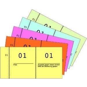 AVERY Zweckform Nummernblock, 1 - 1.000, 105 x ...