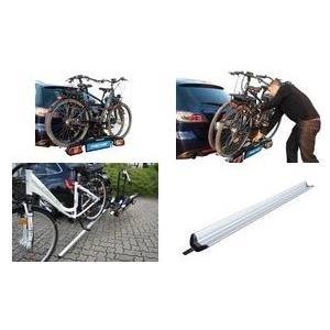 FISCHER Auffahrschiene für Kupplungs-Fahrradträger Proline aus Aluminium, zum einfachen Be- und Entladen des Fahrrad - 1 Stück (18089)