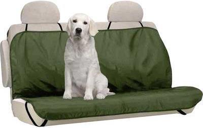 Berger & Schröter Hundeschutzdecke 31804 Polyester Grün Rücksitz (31804)