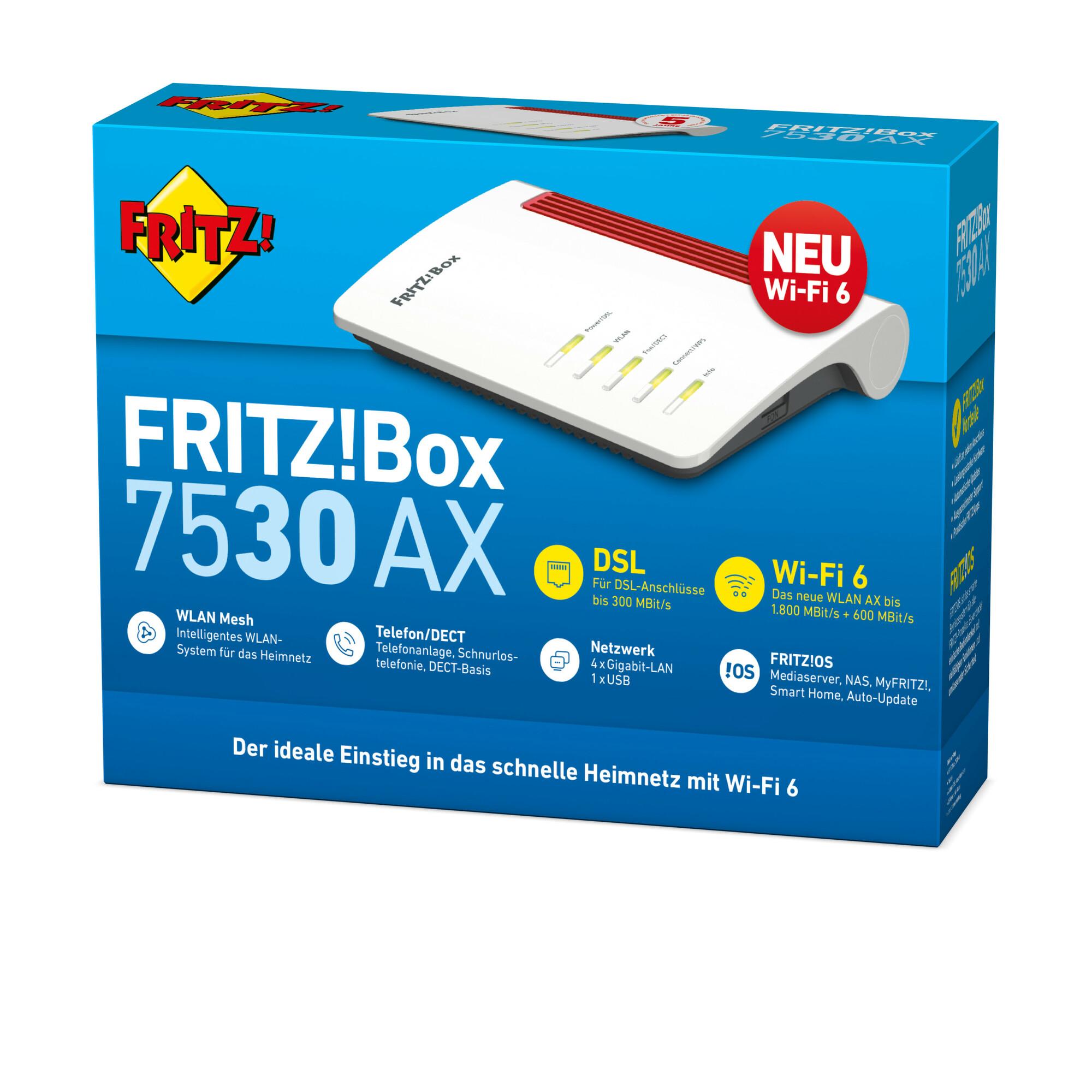 AVM FRITZBox 20 AX Wireless Router DSL Modem 20