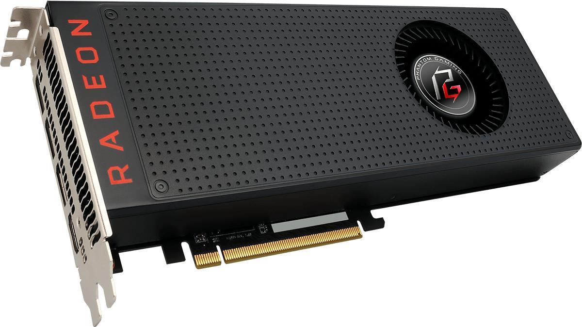 ASRock Phantom Gaming X Radeon RX VEGA 56 8G - Grafikkarten - Radeon RX VEGA 56 - 8GB HBM2 - PCIe 3.0 x16 - HDMI, 3 x DisplayPort (90-GA0900-00UANF)