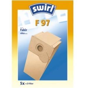Swirl F 97 - Staubbeutel - Blau - Gelb - Papier...