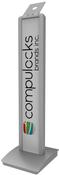 Compulocks BrandMe - VESA Floor Stand - Silver ...