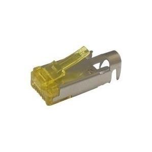 HRS TM31 - Netzwerkanschluss - RJ-45 (M) - STP - CAT 6a - Klargelb