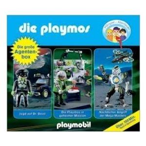 Edel Die Playmos - Die große Agentenbox (106603...