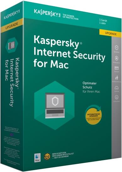 Kaspersky Lab Internet Security f/ MAC - Upgrad...