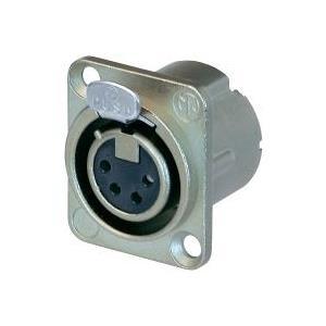 Neutrik XLR-Steckverbinder Flanschbuchse, Kontakte gerade Polzahl: 4 Silber NC4FD-LX 1St. jetztbilligerkaufen