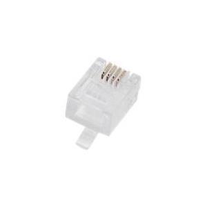 Herweck Helos modular plug - Modulare Eingabe RJ-12 (Packung mit 100) (014170) jetztbilligerkaufen