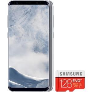 Samsung Galaxy S8+ Arctic Silver inklusive 128GB microSD (G955BUNDLESILVER)