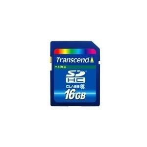 Transcend - Flash-Speicherkarte - 16GB - Class ...