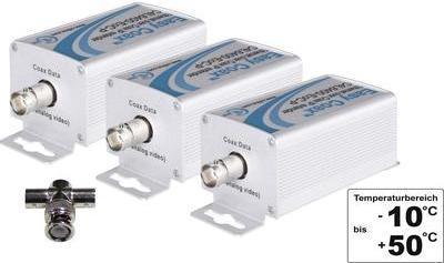 Netzwerkverlängerung Koax Reichweite (max.): 1500 m 100 MBit/s (1330846)