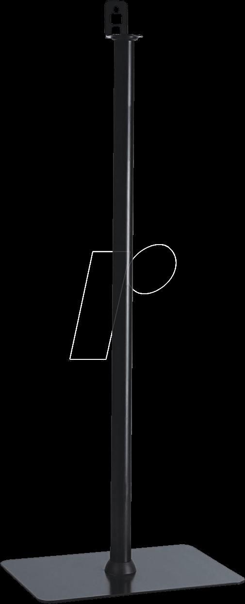 PM-SOM-020 - Lautsprecher-Staender max. 2 kg schwarz (PM-SOM-020)