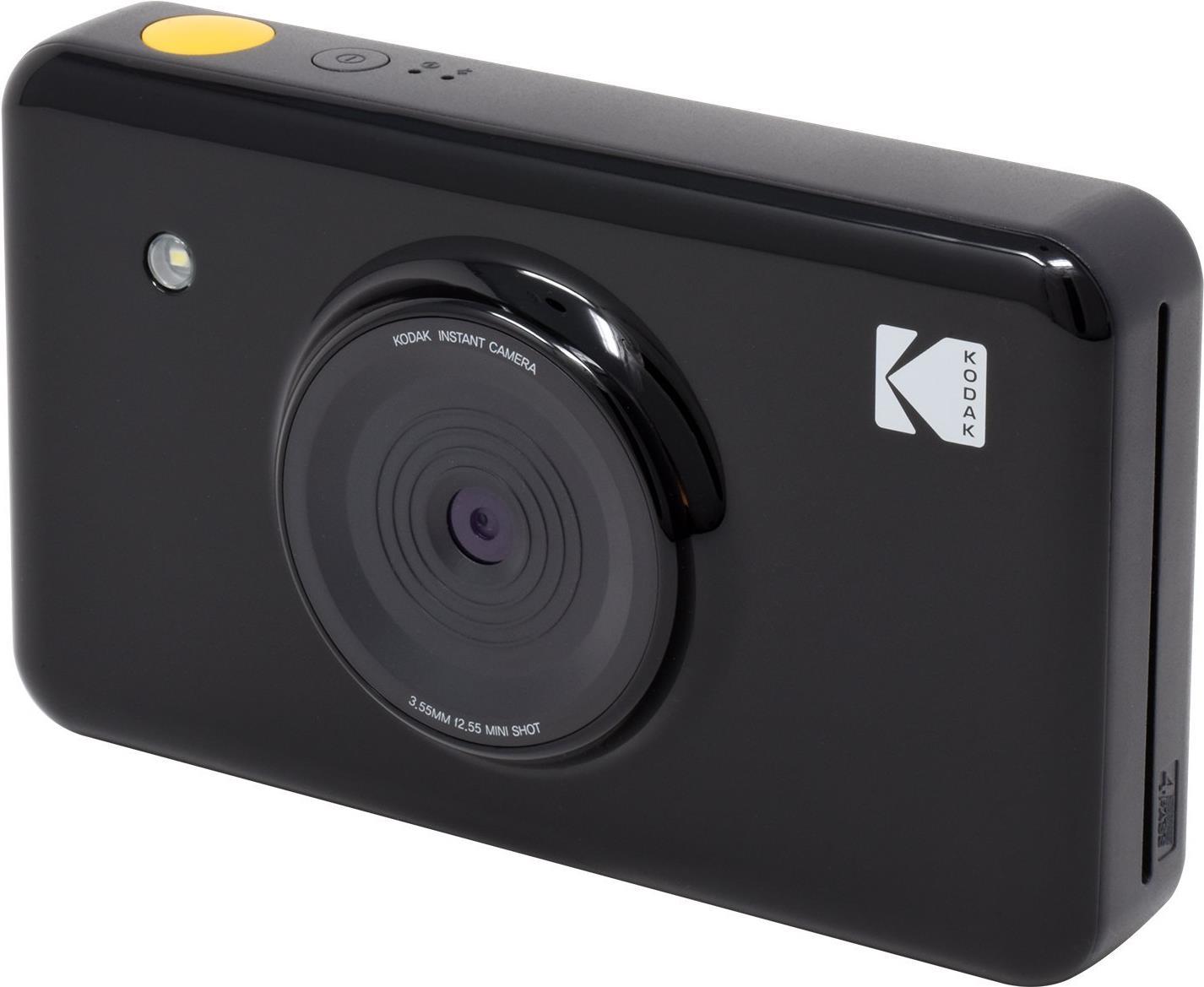 Sofortbildkameras - Kodak MiniShot Digitalkamera Kompaktkamera mit PhotoPrinter 10.0 MPix Wi Fi Schwarz  - Onlineshop JACOB Elektronik