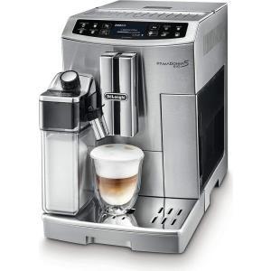 Kaffee, Tee - DeLonghi PRIMADONNA S EVO ECAM 510.55.M. Bauform Freistehend, Produkttyp Filterkaffeemaschine, Produktfarbe Silber. Kaffee Einfüllart Kaffeebohnen, Gemahlener Kaffee, Kaffeezubereitungstyp Vollautomatisch, Fassungsvermögen Kaffeebohnen 250 g.  - Onlineshop JACOB Elektronik