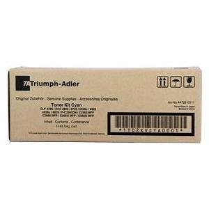 Triumph Adler Toner Kit CDC 4726 Cyan (4472610111) 5k VE 1 Stück für CDC1626, 1726, 5526, CLP 3726, 4726, 5626, DCC 2626, 2726, P-C2660, 2665, 2660i, 2665i MFP (4472610111)