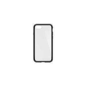 Belkin SheerForce Elite - Hintere Abdeckung für Mobiltelefon - Polycarbonat - Schwarz - für Apple iPhone 7, 8 (F8W849BTC00)