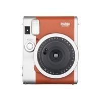 Sofortbildkameras - Fujifilm Instax Mini 90 NEO CLASSIC Instant Kamera Objektiv 60 mm braun (16423981)  - Onlineshop JACOB Elektronik