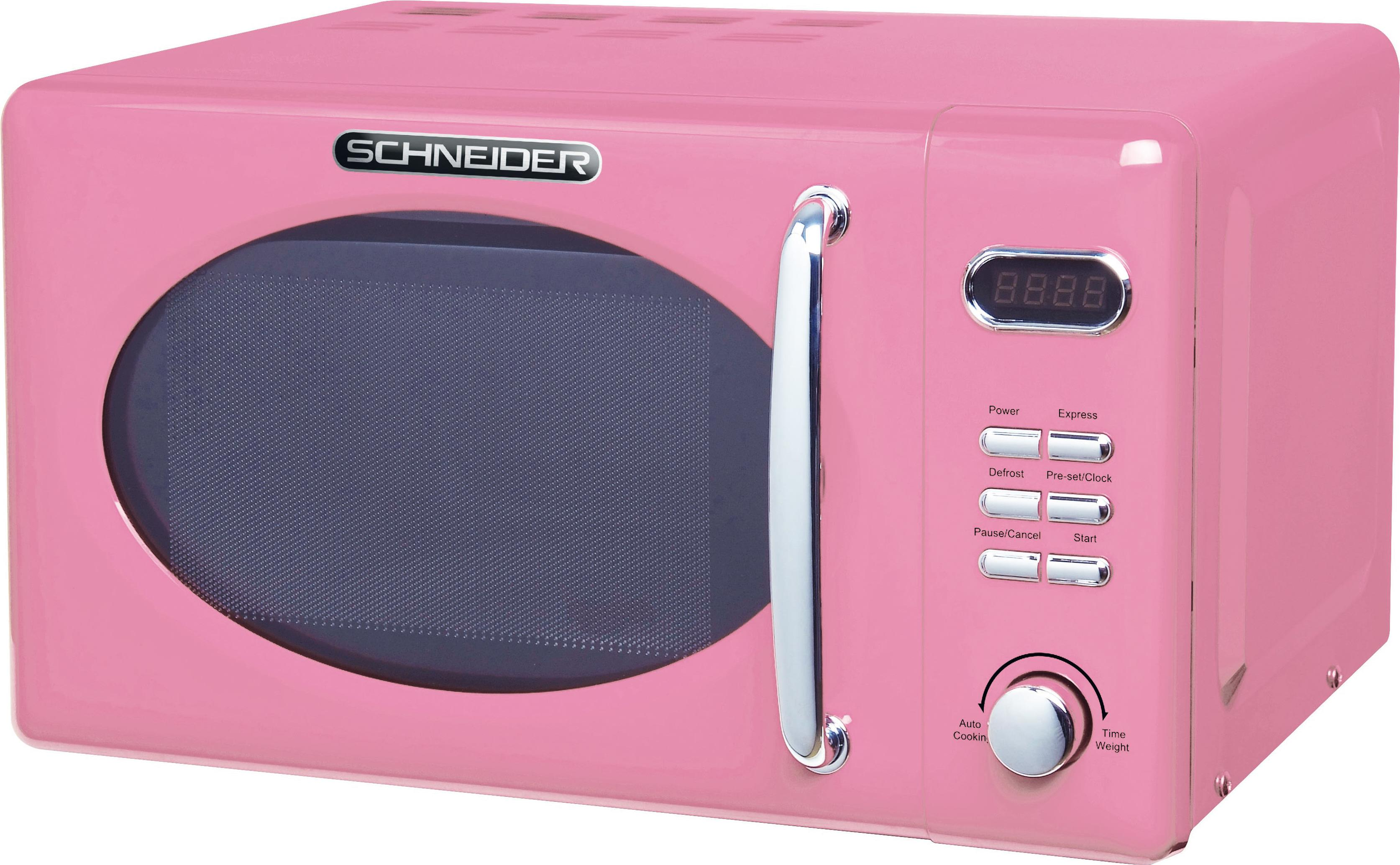 Schneider MW720 SP Pink Mikrowelle Solo (13073)
