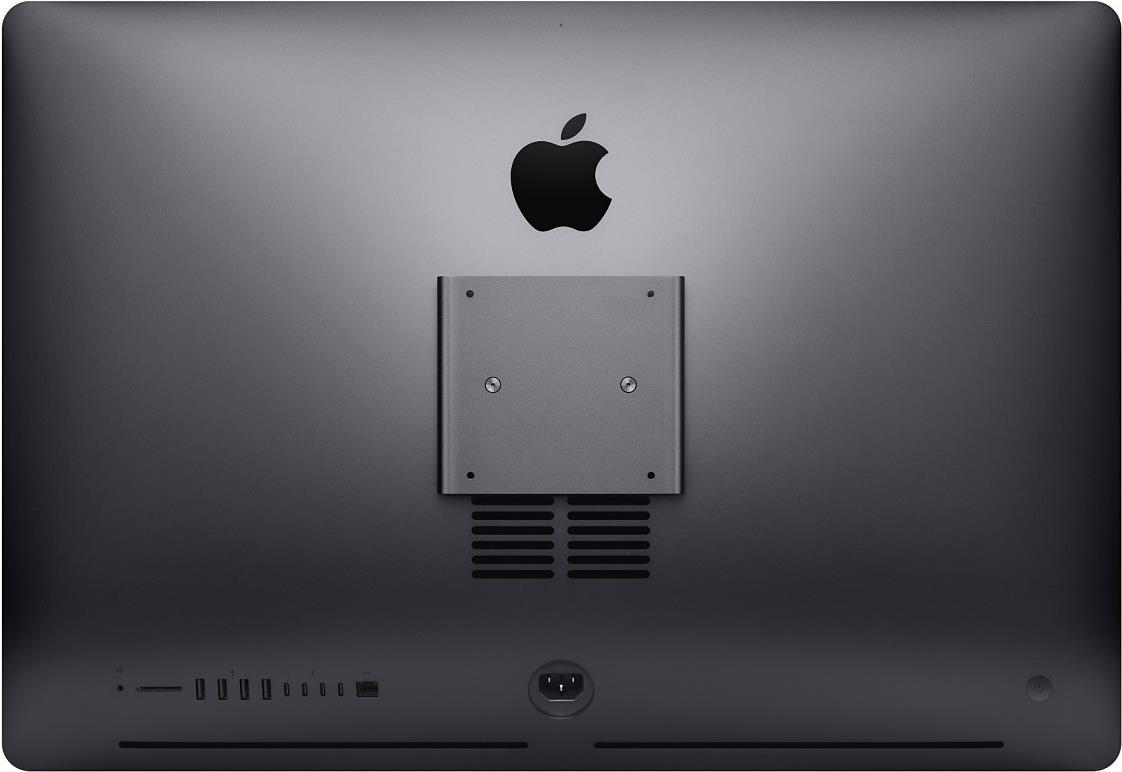 Apple iMac Pro with Retina 5K display and Built-in VESA Mount Adapter - All-in-One (Komplettlösung) 1 x Xeon W 2.3 GHz RAM 32 GB SSD TB Radeon Vega 56 GigE, 10 GigE WLAN: 802.11a/b/g/n/ac, Bluetooth 4.2 OS X 10.13 Sierra