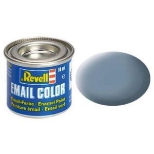 Revell Grau - matt RAL 7000 14 ml-Dose Farbe Kunstharz Emaillelackierung Zinn (32157)