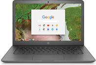 Notebooks, Laptops - HP Chromebook 14 G5 Celeron N3350 1,1 GHz Google Chrome OS 64 8GB RAM 32GB eMMC 35,56 cm (14) IPS Touchscreen 1920 x 1080 (Full HD) HD Graphics 500 Wi Fi, Bluetooth kbd Deutsch (3VK05EA ABD)  - Onlineshop JACOB Elektronik