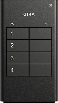 GIRA Handsender 512400 KNX RF 4fach anthrazit (512400)