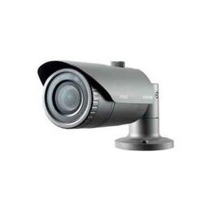 Hanwha Techwin Samsung WiseNet Lite SNO-L5083R - Netzwerk-Überwachungskamera - Außenbereich - Vandalismussicher / Wetterbeständig - Farbe (Tag&Nacht) - 1,4 MP - 1280 x 1024 - 720p - Automatische Irisblende - verschiedene Brennweiten - Audio - LAN
