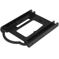 StarTech.com 2.5 SSD/HDD Mounting Bracket for 3.5 Drive Bay - Tool-less - Speichereinschubadapter - 8.9 cm to 6.4 cm ( 3.5 auf 2.5 ) - Schwarz