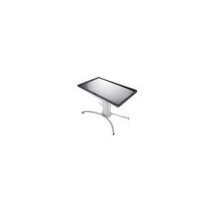Computermonitore - HAGOR Mobile Lift Pro Touch Aufstellung für LCD Display Touchscreen Aluminium Silber Bildschirmgröße 107 208 cm (42 82) Montageschnittstelle bis zu 800 x 600 mm stehend  - Onlineshop JACOB Elektronik