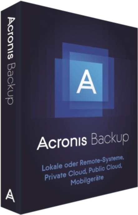 Acronis Backup Advanced Server - (v. 12,5) - Bo...