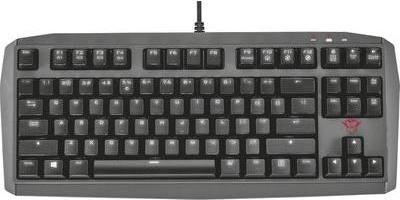 Gamingzubehör - Trust GXT 870 TKL Standard Verkabelt USB Mechanischer Switch LED Schwarz (21290)  - Onlineshop JACOB Elektronik
