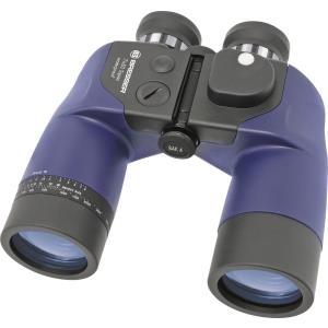 Ferngläser, Mikroskope - Bresser Optik Marine Fernglas Topas WP mit Kompass 7 x 50 Blau (1866932)  - Onlineshop JACOB Elektronik