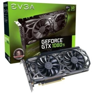EVGA GeForce GTX 1080 Ti SC GAMING - Black Edition Grafikkarten GF 11GB GDDR5X PCIe 3.0 x16 DVI, HDMI, 3 x DisplayPort (11G-P4-6393-KR)