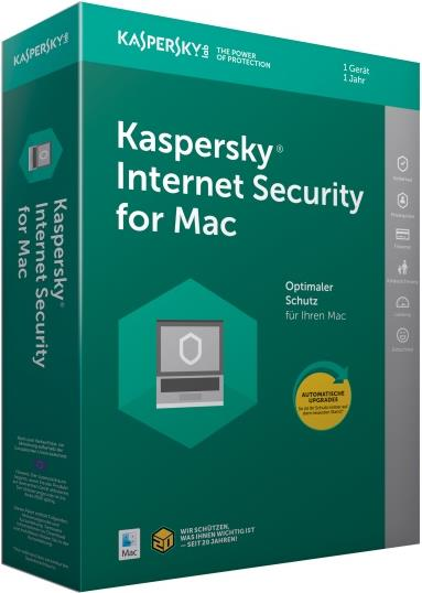 Internet Security MAC - 1-Gerät Sierra-Box*deut...