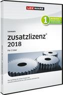 Lexware Zusatzlizenz 2018 für 2 User, Jahresversion (365-Tage) jetztbilligerkaufen