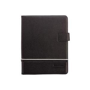 PETER JÄCKEL COMMANDER UNI Tablet Case Ledertasche schwarz für 9 - 25,40cm (10) Tablets (14709) - broschei