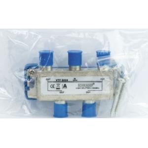 Schwaiger Verteiler 4-fach 8 dB High-End (VTF88...