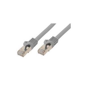 RJ45 Patchkabel mitCat.7 Rohkabel und Rastnasenschutz (RNS), S/FTP, PiMF, halogenfrei (LSOH), 600MHz, grau, 7,5m, Good Connections im POLYBAG (GCT-1386) jetztbilligerkaufen