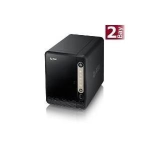 ZyXEL NAS326 - Gerät für persönlichen Cloudspeicher - SATA 3Gb/s - RAID 0, 1, JBOD - Gigabit Ethernet - iSCSI (NAS326-EU0101F)