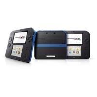 Nintendo 2DS - Handheld-Spielkonsole - Schwarz,...