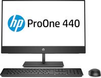 PC Systeme, Computer - HP ProOne 440 G4 All in One (Komplettlösung) 1 x Core i7 8700T 2,4 GHz RAM 16GB SSD 512GB NVMe DVD Writer UHD Graphics 630 GigE, Bluetooth 5,0 WLAN 802,11a b g n ac, Bluetooth 5,0 Win 10 Pro 64 Bit Monitor LED 60,45 cm  - Onlineshop JACOB Elektronik