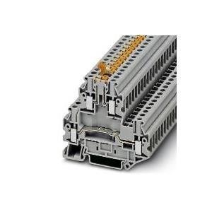 Phoenix Contact Doppelstock-Klemme UTTB 4-MT Grau 50St. jetztbilligerkaufen