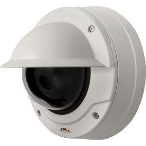 AXIS Q3504-VE Network Camera - Netzwerk-Überwachungskamera - Kuppel - Außenbereich - staubdicht/wasserdicht/vandalismusresistent - Farbe (Tag&Nacht) - 1280 x 720 - 720p - Automatische Irisblende - verschiedene Brennweiten - Audio - 10/100 - MPEG-4,