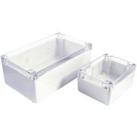 Axxatronic Installations-Gehäuse 160 x 60 Polycarbonat Weiß, Klar 7200-287C 1 St. - broschei