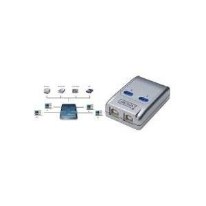 DIGITUS USB Sharing Switch DA-70135-1 - USB-Ums...